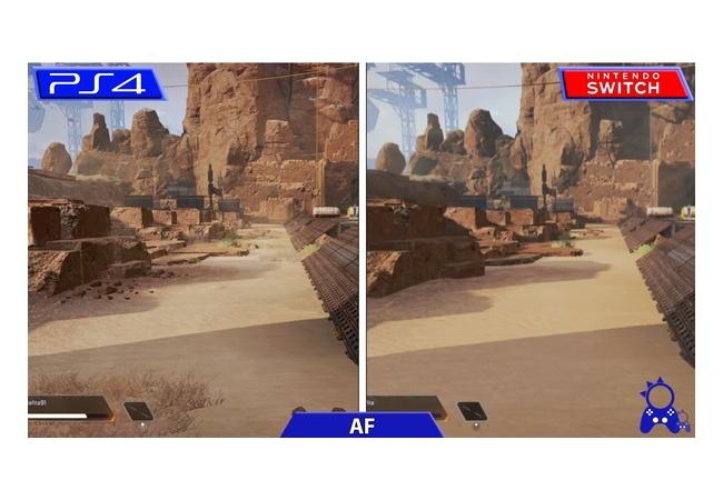 【APEX LEGENDS】Switch版とPS4版の比較動画が到着!!
