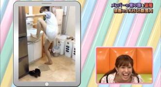 小嶋菜月、洗面台で足を洗うところを隠し撮りされるも大して話題ならず