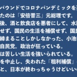 『東京オリンピック不歓迎 ! 国民大行進 IN 新宿(自民党の恐怖政治に狼煙を上げよ!)』の画像