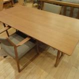 『【2012年9月2日まで飛騨の家具・先行予約会】日進木工のNatural BrownシリーズのLDセット・NBT-461・NBC-409』の画像