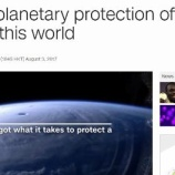 『NASA地球防衛隊募集』の画像