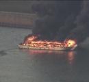 荒川で屋形船が炎上 4人が自力で避難 東京 足立区