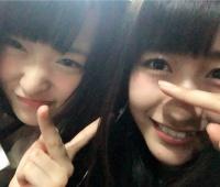 【欅坂46】菅井友香と土生瑞穂の仲良し2ショットの表情イイね!