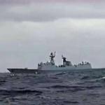 【動画】中国、日本海自と中国海軍の艦艇とが洋上で対峙?ネットに動画投稿され物議 [海外]