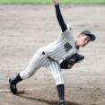 【高校野球】明桜の2年生・風間球打が149キロをマーク!