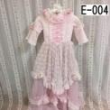 クラシックデザインの子供ドレス ピンク(7歳)SOLD OUT