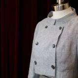 『 スタンドカラーダブルショートジャケット 完成。』の画像