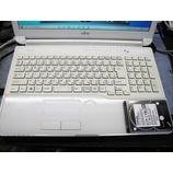 『正常に起動できない富士通製ノートパソコンの修理』の画像