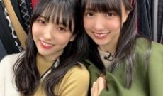 賀喜遥香、早川聖来の2ショットがもはや乃木坂2大美女に君臨する勢いな件