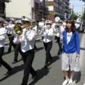 2015年横浜開港記念みなと祭国際仮装行列第63回ザよこはまパレード その65(横浜市立みなと総合高等学校吹奏楽部・チアダンス部)