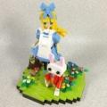 レゴで不思議の国のアリスを作ってみました。
