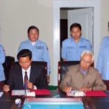 『12.07.30 #2期CMAC-IMCCD地雷処理事業に関する共同事業協定署名』の画像