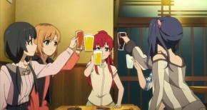 【SHIROBAKO(シロバコ)】第4話 感想…こんな会話してる女子会嫌だわwww嘘!最高だわ!