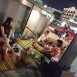 『タイの路上屋台~駅前に夜な夜な現るゴザソムタム~』の画像