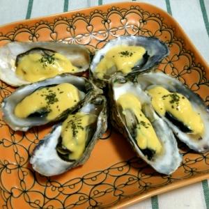 焼き牡蠣 カスタード風味