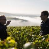 『【「レガシーの継承」を発表】ドン ペリニヨン醸造最高責任者 リシャール・ジェフロワからヴァンサン・シャプロンへ』の画像