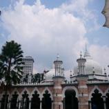 『【クアラルンプール観光】マスジッド・ジャメ ---ライトアップされたモスクは美しい!---』の画像
