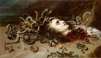 ギリシャ神話「メドゥーサの目を見たら恐怖のあまり石化する」←これ