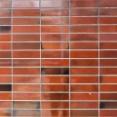 タイル屋のオサーンが外壁のタイル貼りしていた。