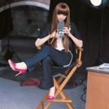 『篠田麻里子と二眼レフ』の画像