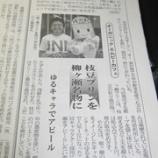 『地域経済を変えるカギか? 8月1日中部経済新聞掲載 「柳ヶ瀬ぷりん」』の画像