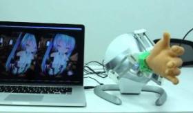 【日本の技術】  日本が 初音ミクが握手してくれる 手の装置を 開発。   海外の反応