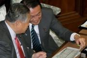 麻生元首相もびっくり ラウンドガール議員登場で国会に衝撃