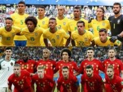 ブラジルvsベルギー!これはベルギー応援するよな?
