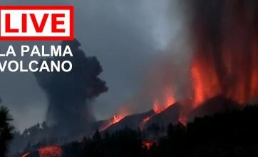 【ライブ映像】スペイン領カナリア諸島、50年ぶり噴火でゲームの魔界みたいになる……