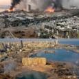 【画像】 レバノン・ベイルート爆発事故の跡地をご覧ください #大爆発 #硝酸アンモニウム