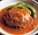 【夜食】飯+チーズ+ハンバーグ=💀