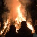 『小正月に焚き上げる』の画像