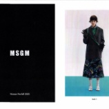 『MSGM Woman Pre-fall 2020 LOOK BOOK』の画像