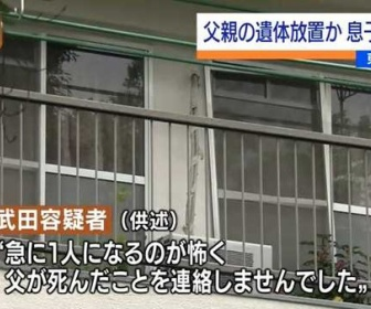 【東京・足立区】「急に1人になるのが怖かった」…91歳の父親の遺体を放置した疑い 30年間ひきこもりの61歳息子を逮捕