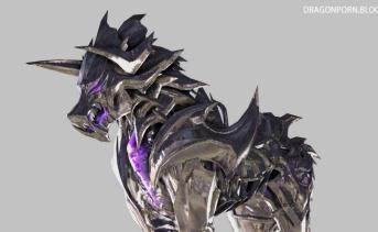 Slash Legendary Silver Wolf Mount