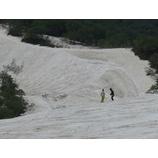 『好天に恵まれた月山スキーキャンプ1期。』の画像