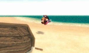 ネコ島へ行くとキャラが浮いてしまい移動できなくなることがある