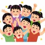 小学校←楽しい 中学校←楽しくない 高校←普通 大学←楽しい