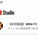 Youtubeの チャンネル登録者が18万人を突破しました!   早朝から コツコツと制作し続けて、  ここまでこれました。。。  視聴者の みなさんのおかげです。  本当に、 ありがとうご