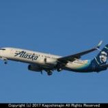 『アラスカ航空 B737-900ER』の画像