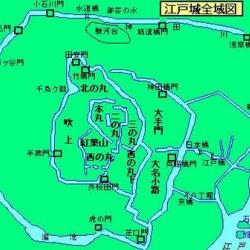 『【城プロRE】江戸城の規模が頭おかしいレベルだけど城娘になったらどうなるの?』の画像