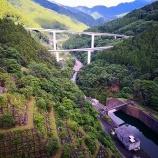 『秩父「滝沢ダム」を階段で駆け上がれ!この夏、階段通路が開放されていますよん』の画像