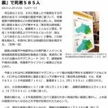 『戸田市を含む県南東部エリアは震度6強エリア 埼玉県「東京湾北部地震で死者585人」の地震被害予測』の画像