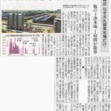 『(読売新聞)放射性セシウム検出 なぜ大久保浄水場だけ? 他の4浄水場、1時間が限界』の画像