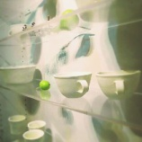 『秋の白い陶器』の画像