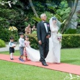 『「結婚式 ご入場をお子様と♪」』の画像