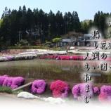 『田圃の中の花の園』の画像