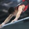 【2319】2021.5.16「第60回NHK杯体操」男子競技/(速報)内村航平選手、鉄棒の演技を終え15.333点をマーク!