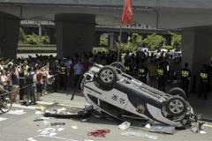 「ヒャッハー!日本車だ、ぶっ壊せー!!」 中国がとんでもないことに