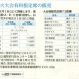 『第61回戸田橋花火大会の有料席販売が始まっています』の画像